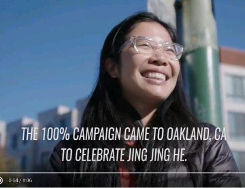 ONE100 Oakland – Jing Jing He