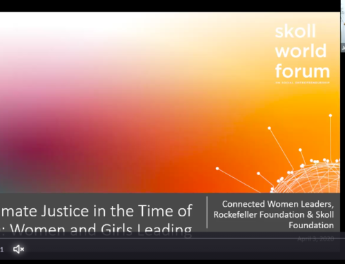 Climate Justice In The Time Of COVID-19: 5 Lessons From Women And Girls Leading The Fight