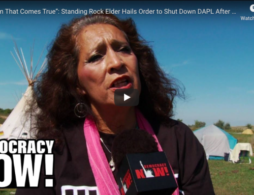 Water Protectors Celebrate As Dakota Access Pipeline Ordered To Shut Down