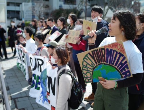 Japanese Youth Climate Activists Confront Society To Save It